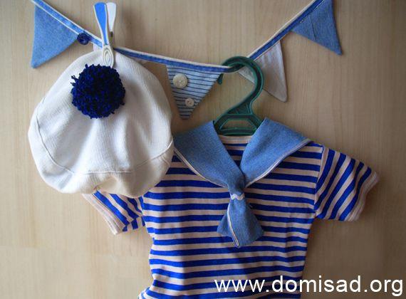 Новогодний костюм моряка для мальчика