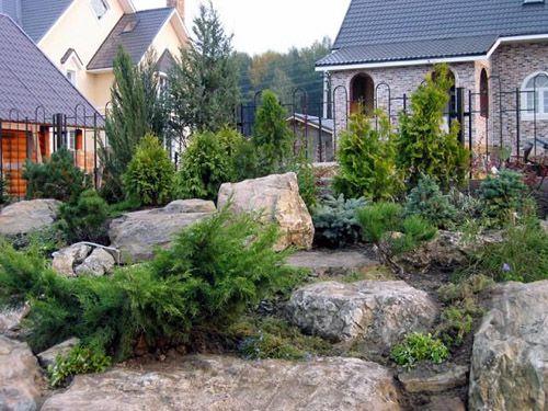 Камень в ландшафтном дизайне своими руками фото 351