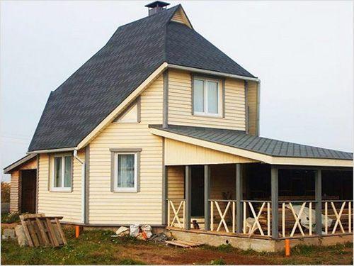 Каркасный дом построить своими руками фото