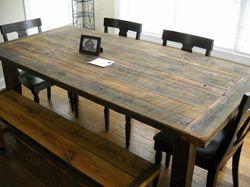 Старый стол
