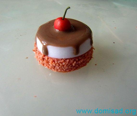 Тортики из полимерной глины фото