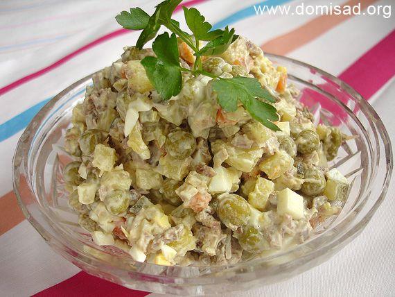 Салат оливье рецепт грамм