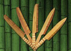 Ножи из бамбука