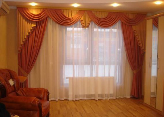 дизайн, штора, фото, оконных занавесок, занавесок зала