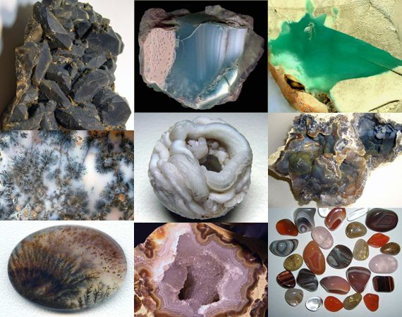 Разновидности халцедона