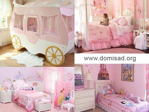 Комната для девочки принцессы