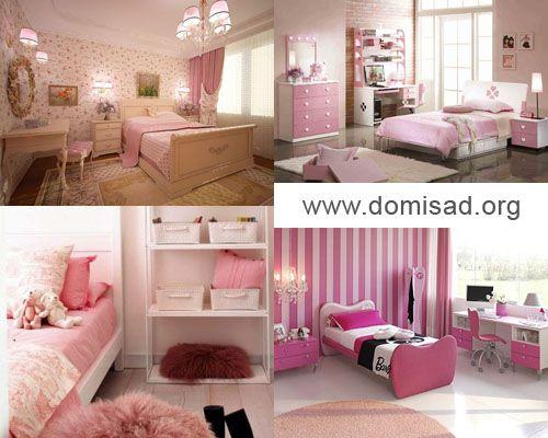 Фотографии спален в розовых тонах