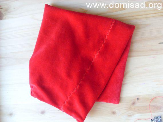Как сшить шапочку красной шапочки своими руками