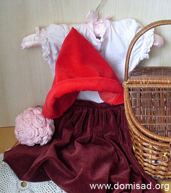 Новогодний костюм красной шапочки