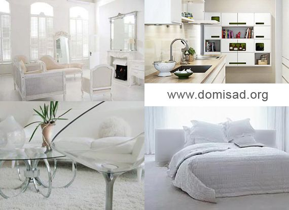 Дизайн интерьера белый