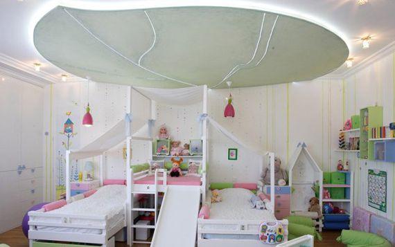 Белая мебель для детской комнаты