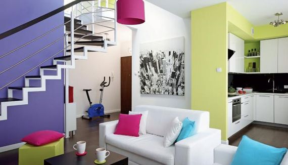 Дизайн интерьера двухкомнатной квартиры. Советы