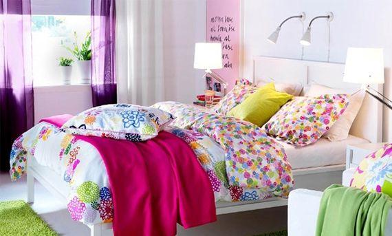 Фисташковая спальня