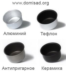 Чаша для мультиварки – как выбрать покрытие кастрюли, виды чаш, отзывы