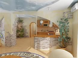 Каменные обои для квартиры