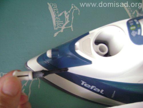 Как почистить утюг тефаль внутри в домашних условиях 458