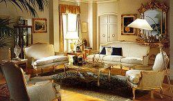 Гостиная с элитной мебелью