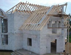 Дом из газосиликатных блоков, строительство