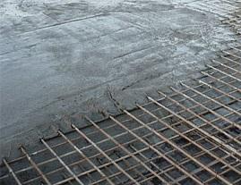 Заливаем бетон, перекрытия