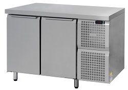 Металлический холодильный стол