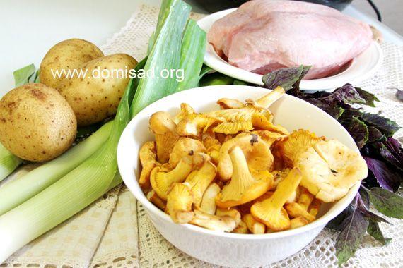 Ингредиенты для курицы в мультиварке