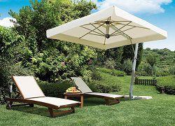Большой садовый зонт