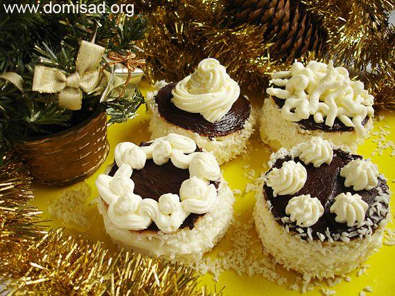 Пирожное с маскарпоне и шоколадом