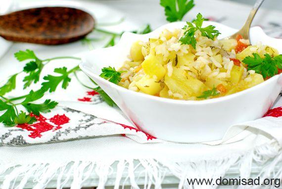 Как приготовить кабачки с картошкой и говядиной в мультиварке