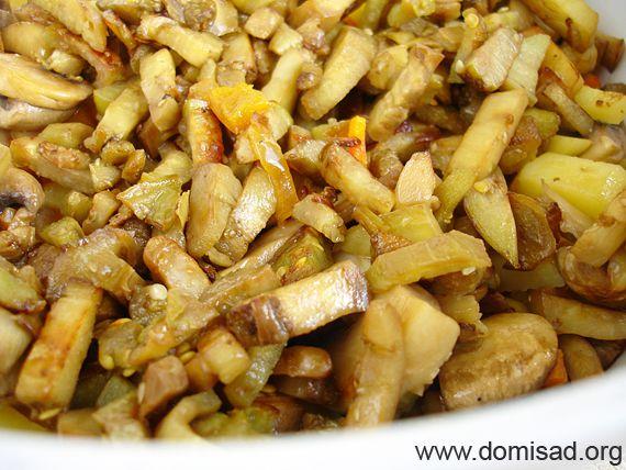 Овощное рагу в пакете для запекания – кулинарный рецепт