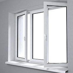 Пластиковое окно в новом доме