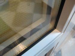 Пластиковое окно с однокамерным стеклопакетом