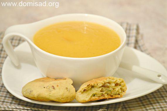 Суп из кабачков готов!