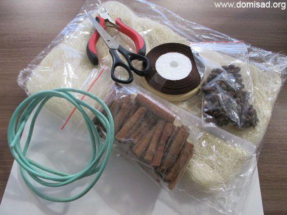 Материалы для елочки