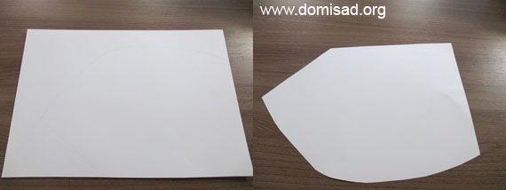 Вырезаем елку из бумаги