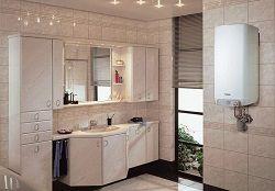 Газовый котел в ванной комнате