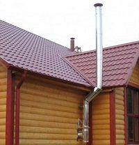 Дымоход деревянного дома