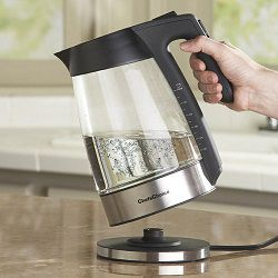 Прозрачный электрический чайник