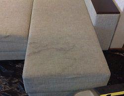 Разводы на диване