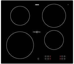 Индукционная плита с четырьмя конфорками