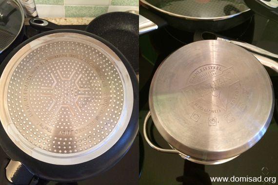 Дно посуды для индукционной плиты