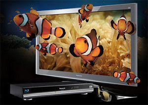 3d телевизор, ресивер и очки