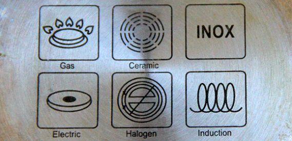 Знаки на посуде
