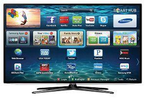Смарт ТВ на телевизоре от Самсунга