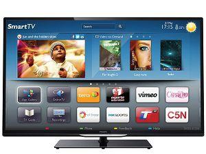 Телевизор со Смарт технологией от Филипс