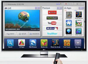 Смарт ТВ на телевизоре от LG
