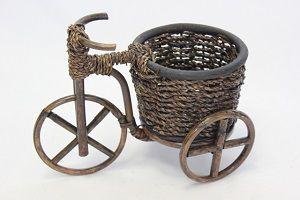 Кашпо велосипед
