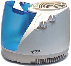 Голубой увлажнитель очиститель воздуха для дома