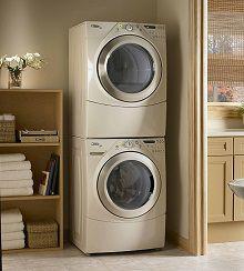 Сушильная машина на стиральной в колонну