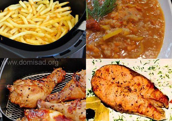Блюда, приготовленные в мультипечи