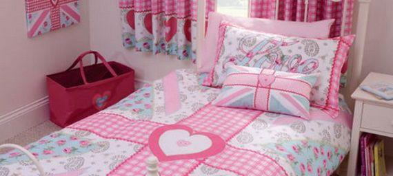 Комната для девочки в английском стиле